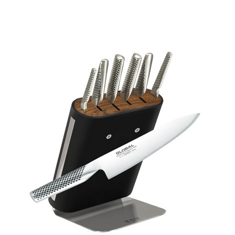 Classic 7-Piece Knife Block, ${color}