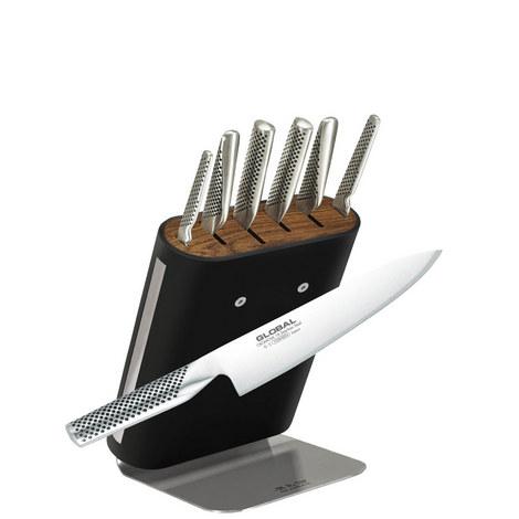 Classic 7-Piece Knife Block, ${color}