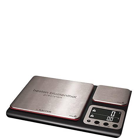 Heston Blumenthal Dual Platform Precision Kitchen Scale, ${color}
