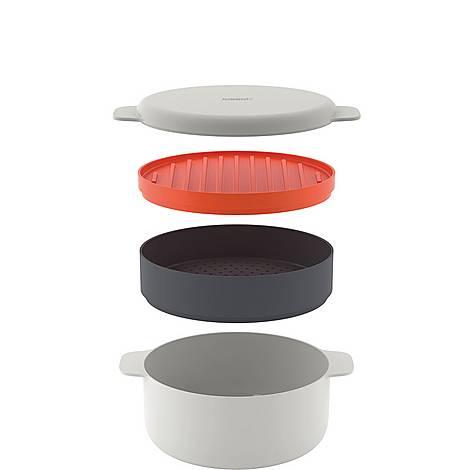 M-Cuisine Stackable Microwave Cooking Set, ${color}