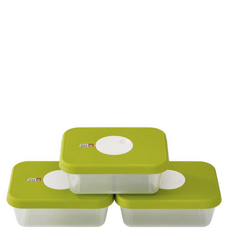 3 Dial Rectangular Storage Container, ${color}