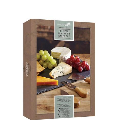 Slate Cheese Platter Set, ${color}