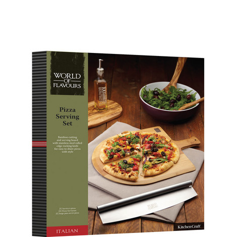 Italian Pizza Serving Set, ${color}