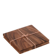 Square Acacia Table Mats