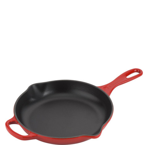Signature Cast Iron Frying Pan 23cm, ${color}