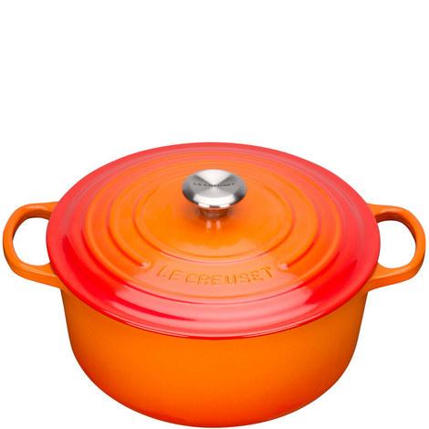 Round Casserole 28cm, ${color}