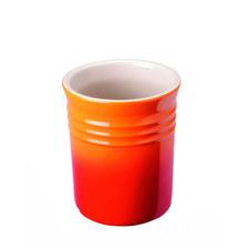 Stoneware Utensil Jar