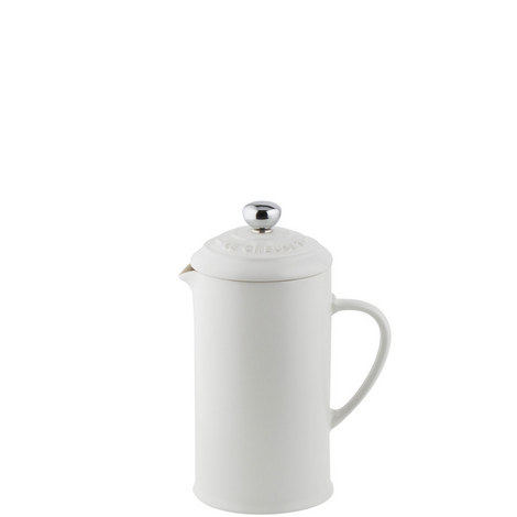 Stoneware Cafetière with Metal Press, ${color}