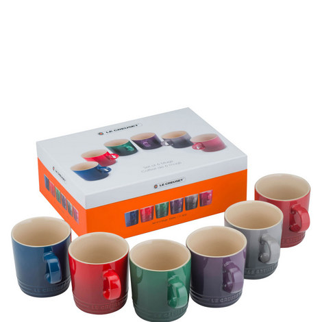 Set of 6 Moorland Mugs, ${color}