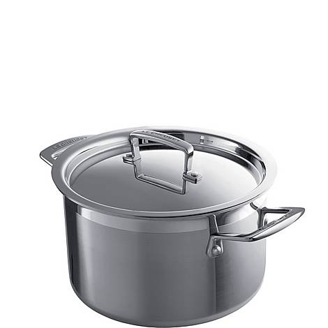 3-ply Stainless Steel Deep Casserole, ${color}