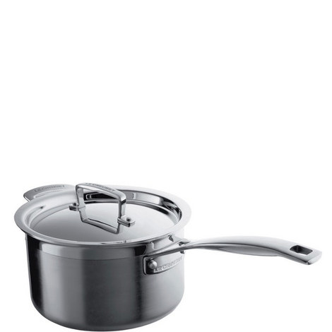 Stainless Steel Saucepan 20cm, ${color}