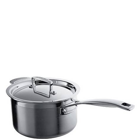 Stainless Steel Saucepan 20cm, ${color}