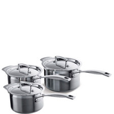 3 Piece Saucepan Set