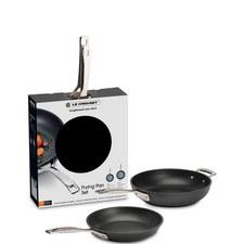 Toughened Non-Stick Frying Pan Set