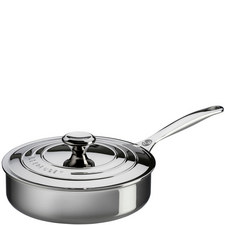 3-Ply Stainless Steel sauté Pan with Lid