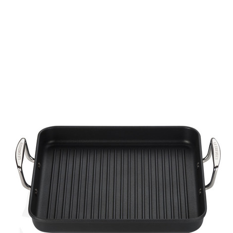Toughened Non-Stick Grill Pan 28cm, ${color}