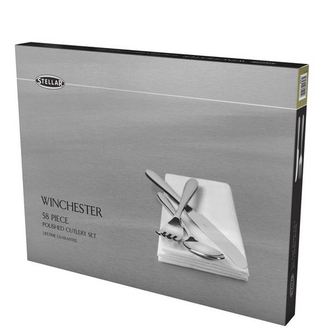 Winchester Cutlery Set 58 Pieces, ${color}