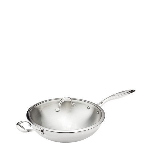 Tri-Ply Wok 32cm, ${color}