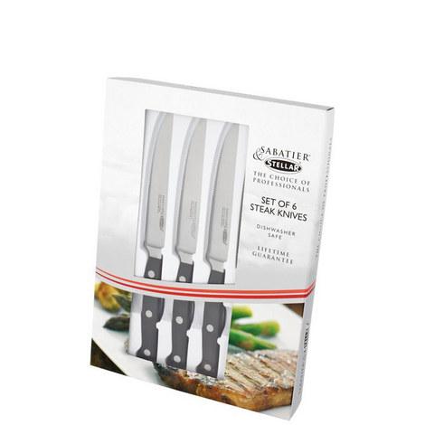 Set of 6 Steak Knives, ${color}