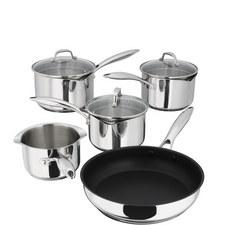 5-Piece 7000 Saucepan and Pot Set