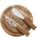 3 Piece Cheese Board Set, ${color}