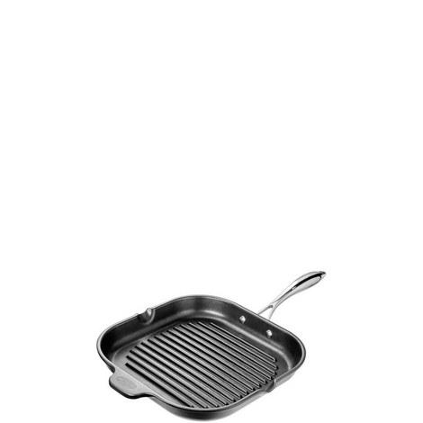 Square Grill Non Stick Pan 28cm, ${color}