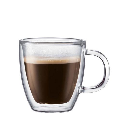 Bistro Double Wall Espresso Mugs 2 piece, ${color}