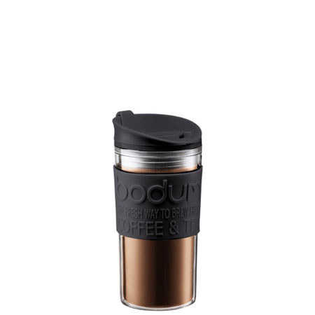 Gift with purchase: Acrylic Black Travel Mug, ${color}