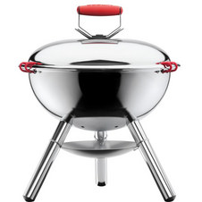Fyrkat Chrome Charcoal Grill