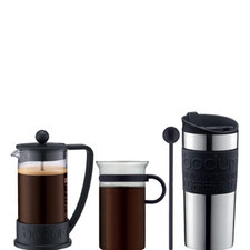 Brasil Four Piece Coffee Gift Set