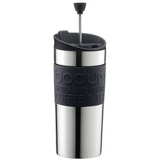 Vacuum Travel Coffee Press with lid