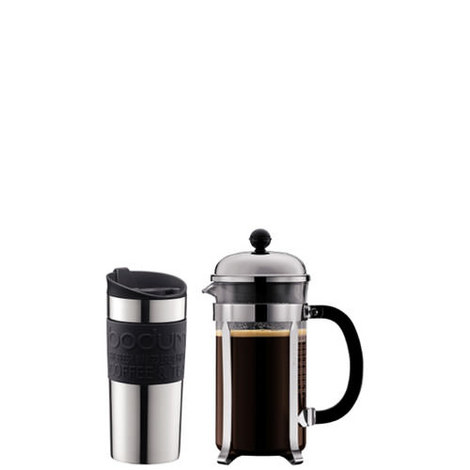 8-Cup Chambord Coffee Press and Travel Mug, ${color}
