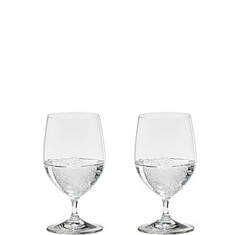 Riedel Vinum Water Glass Set of Two