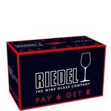 Vinum Chardonnay Glasses 8 for 6