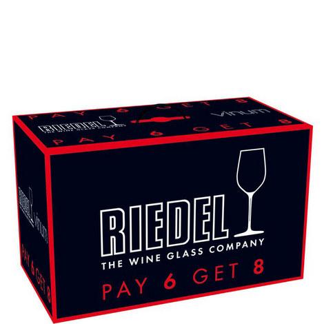 Vinum Bordeaux Glasses 8 for 6, ${color}