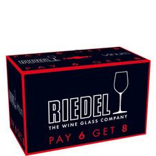 Vinum Bordeaux Glasses 8 for 6