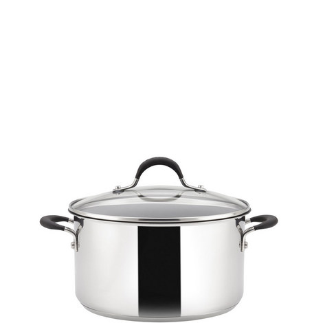 Momentum Covered Stockpot 24cm, ${color}