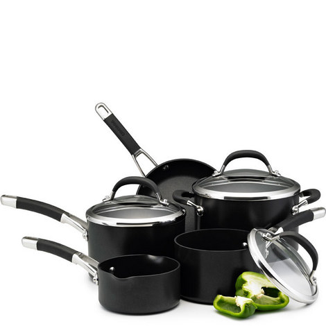 Professional Five Piece Pan Set, ${color}