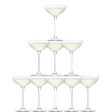 Tower Champagne 10 Piece Set