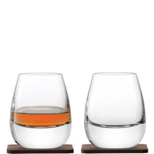 Islay Whiskey Tumblers and Coaster Set