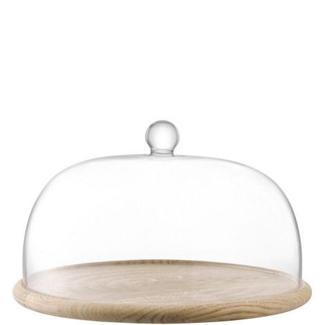 Serve Dome and Oak Base, ${color}