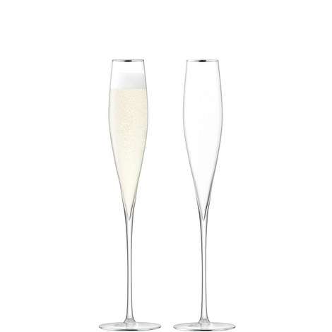 Celebrate Gold Champagne Flutes, ${color}