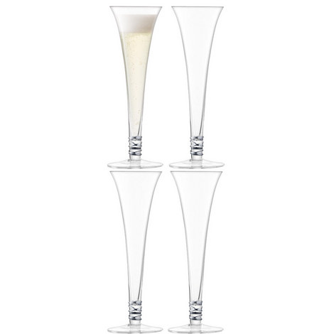 Prosecco Flutes Set Of Four, ${color}