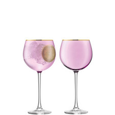 Set of Two Sorbet Balloon Glasses