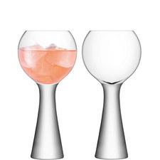 Set of 2 Moya Wine Glasses 550ml