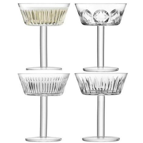 Tatra Champagne Glasses Set of 4, ${color}