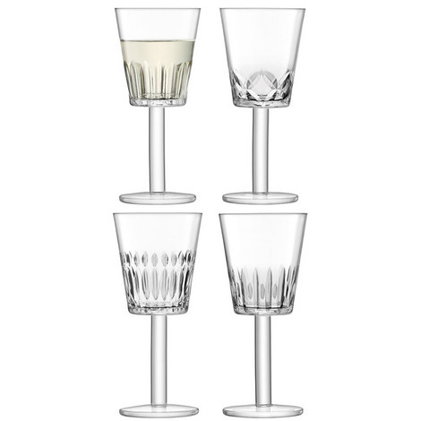 Tatra Wine Glasses Set of 4, ${color}