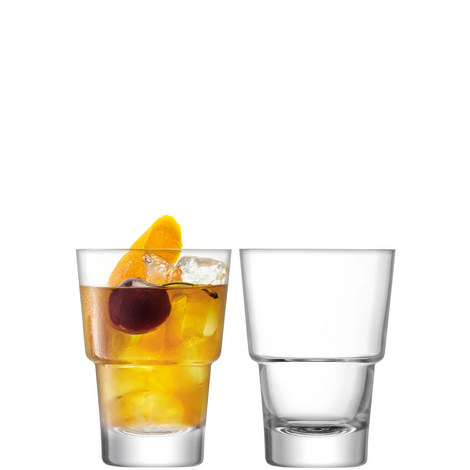 Set of Two Mixologist Cocktail Tumblers, ${color}