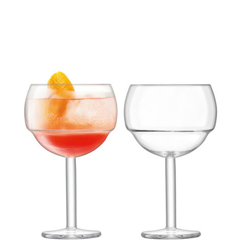 Set of Two Mixologist Balloon Glasses, ${color}