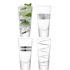 Gatsby Long Mixer Glasses Set Of Four
